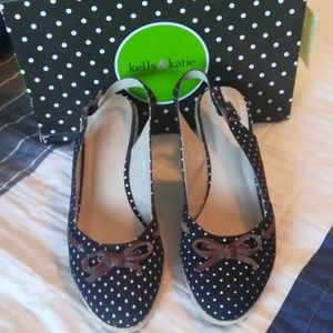 Kelly&Katie polka dot shoes
